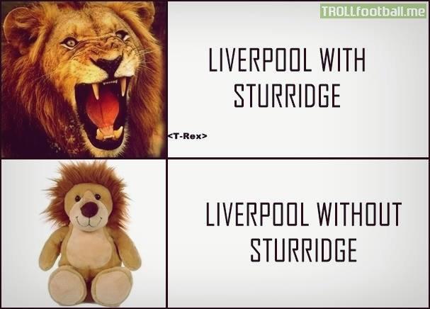 Sturridge có và không Liverpool