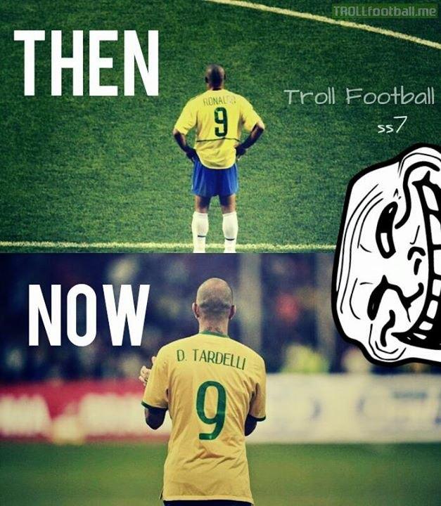 Số 9 Tardelli là minh chứng cho sự đi xuống của Brazil?