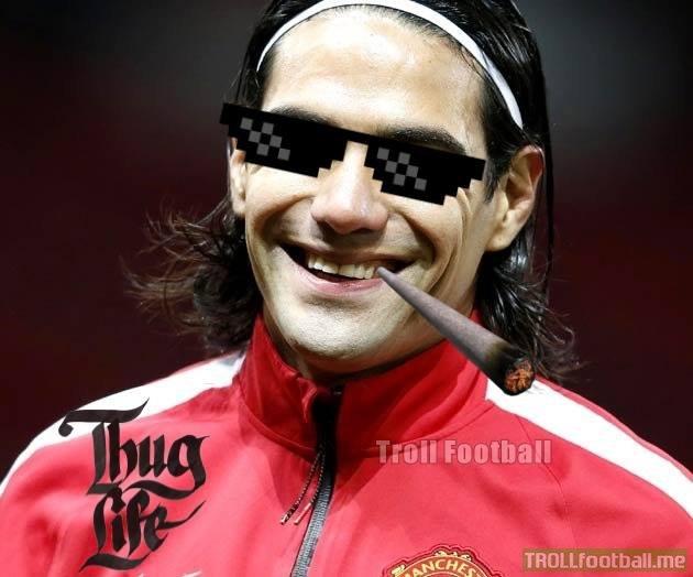 Kể từ lần gấn nhất ghi bàn, Falcao đã kiếm cả triệu bảng.