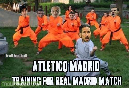 Cách mà Atletico tập luyện