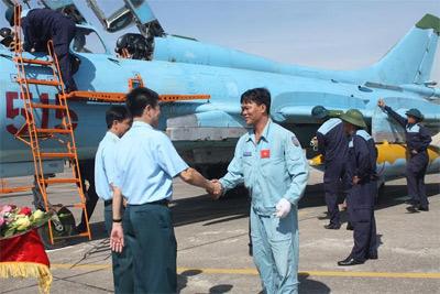 Su-22 của Trung đoàn 929. Ảnh: Quân đội nhân dân