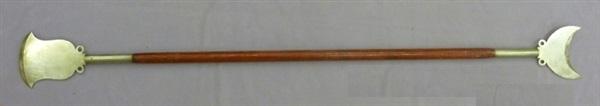 Một cây quyền trượng trong võ thuật Thiếu Lâm.