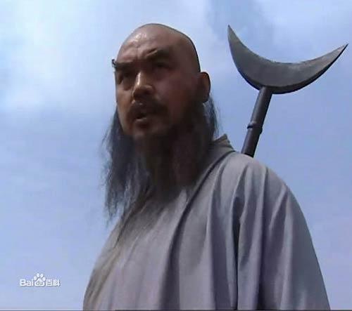 Lỗ Trí Thâm và Nhật Nguyệt Quyền Trượng (trong phim Thủy Hử 1996).