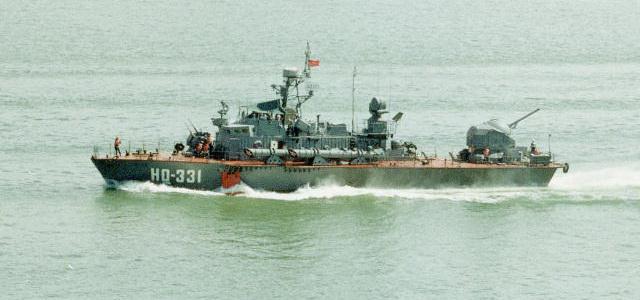 Tàu phóng lôi Turya của Hải quân Việt Nam. Ảnh: Quân đội nhân dân