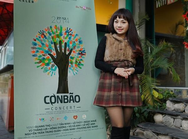 Ca sĩ Ngọc Khuê sẽ tham dự chương trình - Ảnh: Tuổi trẻ - BTC cung cấp)
