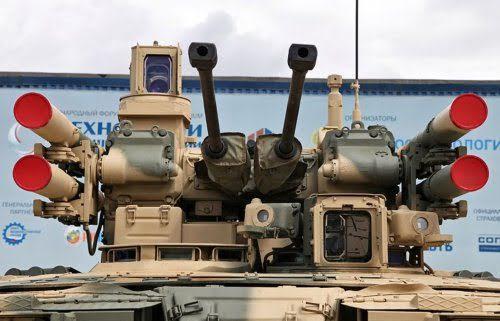Một trong các phiên bản module chiến đấu có thể lắp trên BMPT T-15.