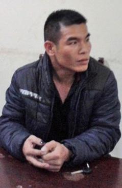 Tài xế Phạm Sỹ Hùng tại cơ quan công an
