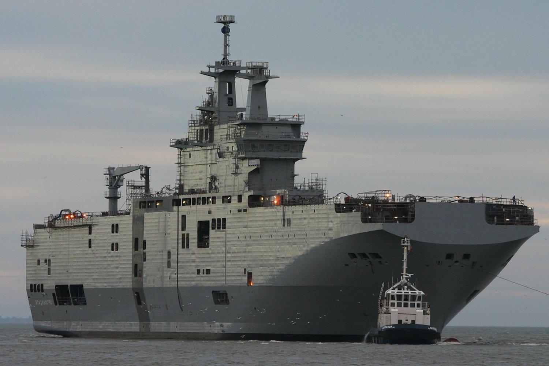 Thiết bị của Nga lắp đặt trên 2 chiếc Mistral có thể được giữ lại trên tàu nếu khách hàng mua lại chúng là Ai Cập.