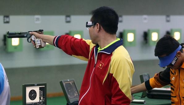 Hoàng Xuân Vinh thi đấu rất ấn tượng