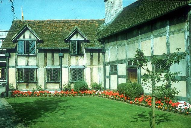 Nhà của Shakespeare ở Stratford-upon-Avon, West Midlands