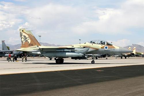 F-15I của Không quân Israel.
