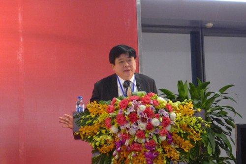 Ông Nguyễn Thế Kỷ – Giám đốc Trung tâm Báo chí Đại hội XII của Đảng thông báo chính thức các thông tin về Đại hội Đảng XII.