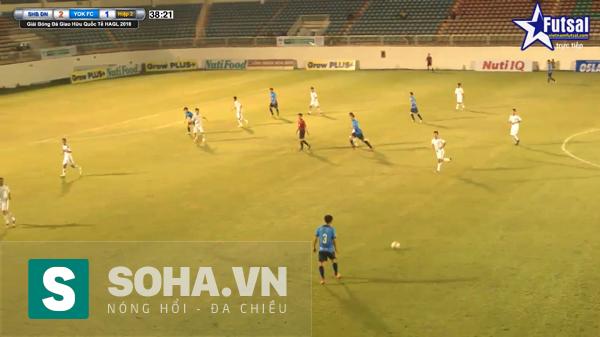 Yokohama FC không thể hiện được sự vượt trội trước SHB. Đà Nẵng nhưng chơi khá đa dạng, kĩ thuật.