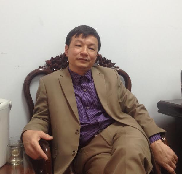 Ông Nguyễn Thanh Sơn - Chánh Văn phòng UBND huyện Ba Vì