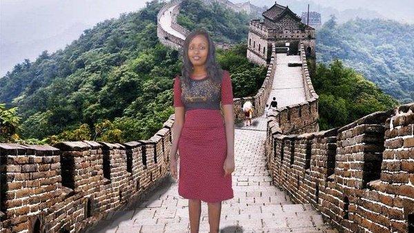 """""""Đặt chân"""" đến Vạn Lý Trường, Trung Quốc."""