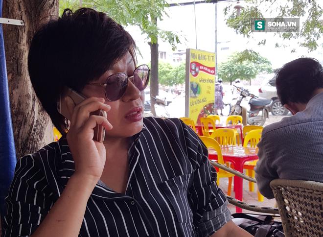 Nhà báo Thu Trang kể, sau khi nhận được cuộc điện thoại đe dọa, vợ chồng chị đã hốt hoảng đi tìm con gái.