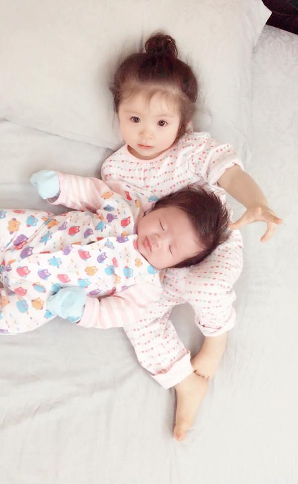 2 nhóc tì xinh xắn của Elly Trần