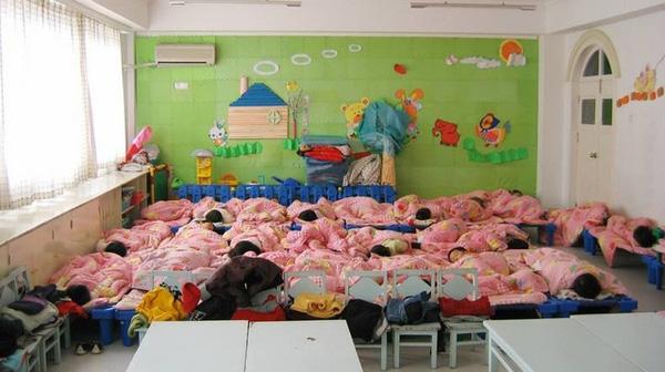 Sự việc đau lòng diễn ra tại một ngôi trường mẫu giáo ở Trung Quốc.