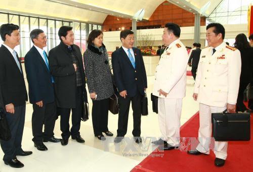 Các đại biểu tham dự Đại hội. Ảnh: TTXVN