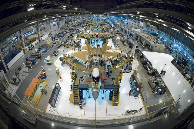 Mỹ đã dừng đây chuyền sản xuất F-22 từ vài năm trước.