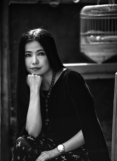 """Nhà thiết kế Hà Linh Thư thời chưa """"xuống tóc"""""""