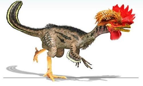 Khủng long ra đời từ gà biến đổi gene. Ảnh: Live Science