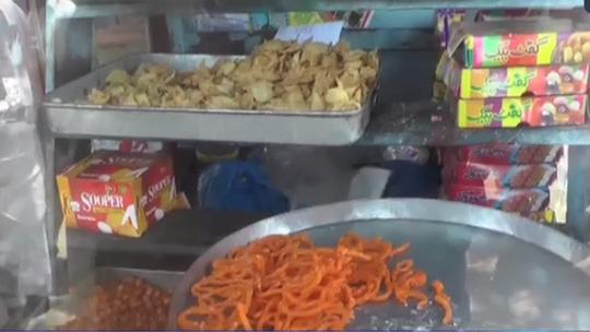 Tiệm bánh nơi bán ra loại kẹo lẫn thuốc trừ sâu. Ảnh: BBC