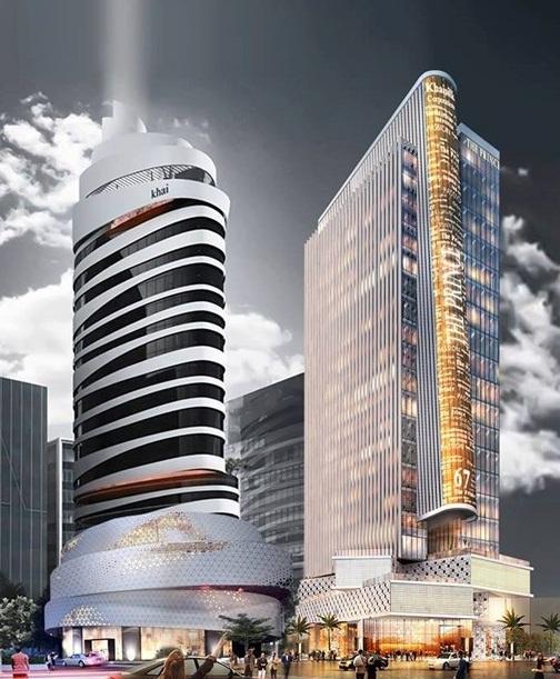 Thiết kế dự án của doanh nhân Hoàng Khải rất ấn tượng bởi kiến trúc lạ