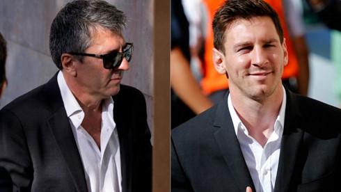 Cha con Messi tiếp tục gian lận thuế?