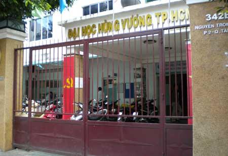 ĐH Hùng Vương - TP.HCM (Ảnh: internet)