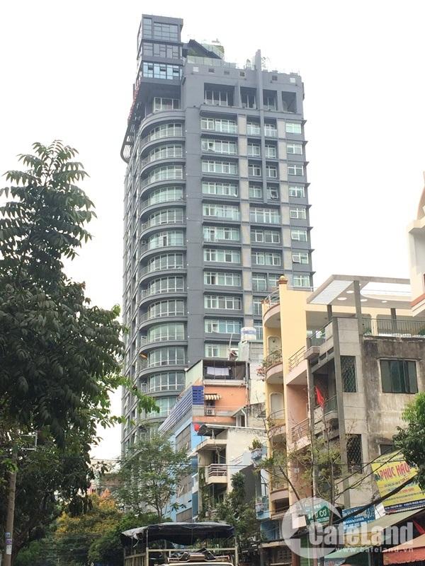 The One Saigon nhìn từ hướng đường Ký Con.