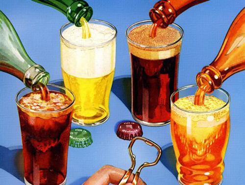  Chất màu giống caramel trong thức uống có gas cũng là chất gây ung thư.
