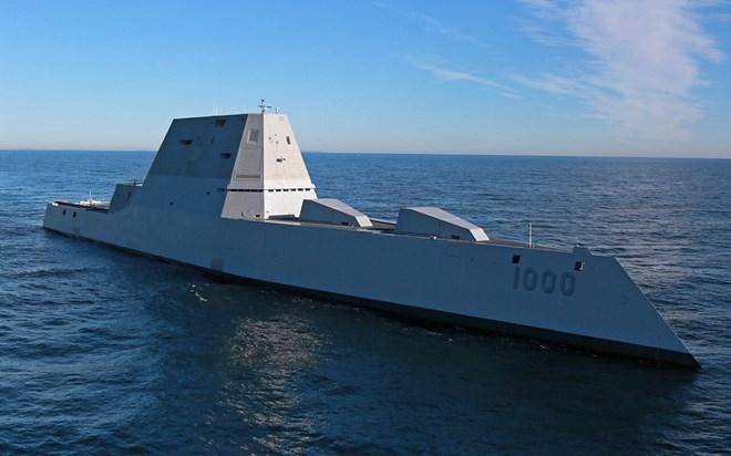 Tàu chiến Zumwalt thế hệ mới của Mỹ