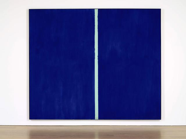 Một tác phẩm đắt giá khác của Newman - bức tranh Onement VI hoàn thành vào năm 1953 được bán với giá 43,8 triệu USD (khoảng 973 tỉ đồng) vào năm 2012. Phần lớn tranh của ông chỉ những lần chia tách, phân ly trong kinh thánh, có sự phân chia khối màu được đánh giá là tuyệt vời. Những khối màu áp vào nhau như những tầng đất được áp vào nhau, còn vạch kẻ chính là biên giới của mỗi tầng.
