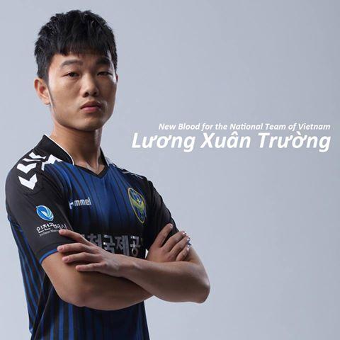 Incheon United chúc mừng Xuân Trường.