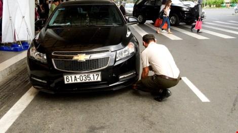 Trường hợp không tuân theo sự nhắc nhở thì sẽ bị khóa xe và xử phạt theo quy định.
