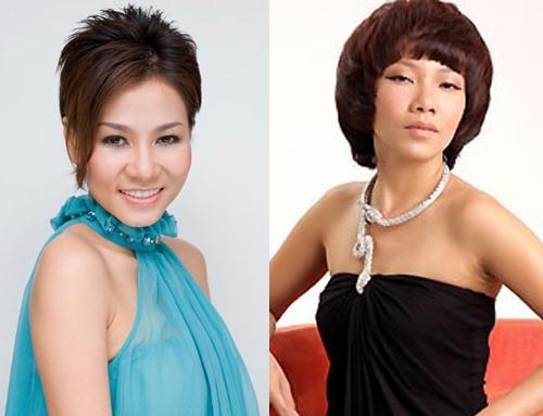 """Đều là ca sĩ nổi tiếng sở hữu giọng hát khủng và cùng sinh năm 1977, nhưng Trần Thu Hà có phần """"dừ"""" hơn Thu Minh."""