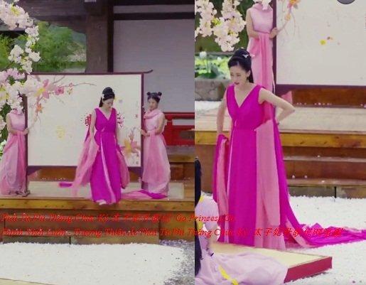 Bộ đầm hồng của Trương Bồng Bồng mượn ý tưởng từ trang phục của nhà thiết kế người Pháp Jean Paul Gaultier.