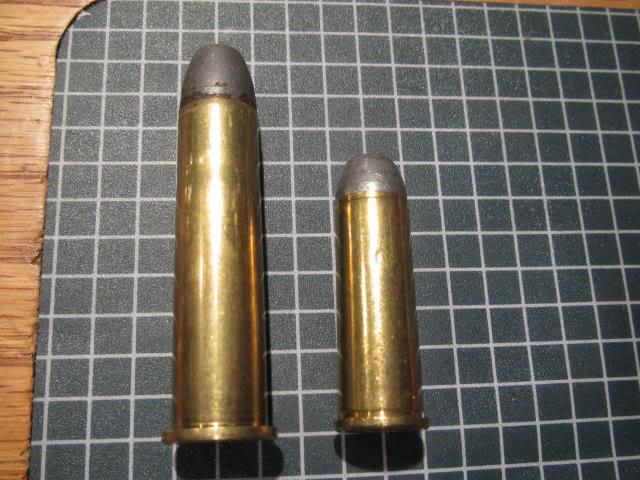 So sánh 2 loại đạn .45-70 và .44-40