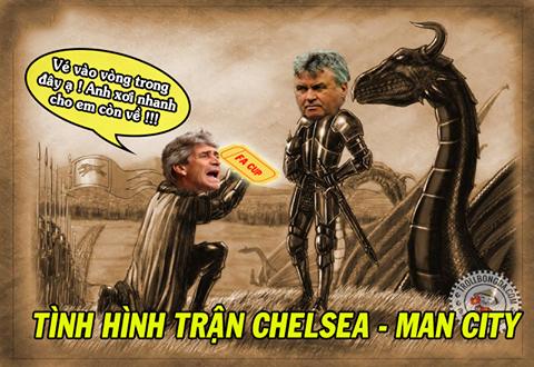 Man City đang ngày càng sa sút.
