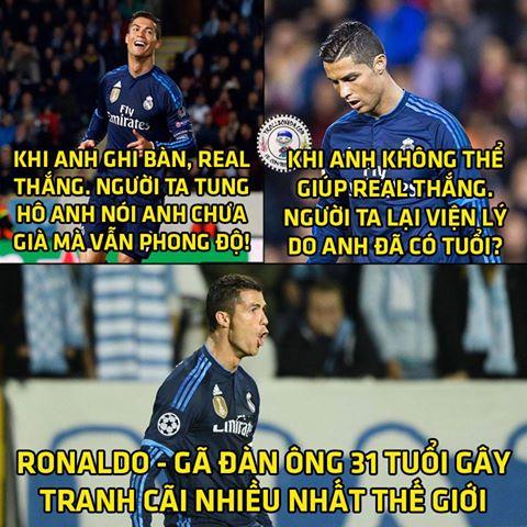 Ronaldo vẫn là đầu tàu kéo Real về phía trước.