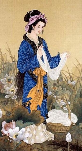 Vẻ đẹp trời cho của Tây Thi được nhắc tới như huyền thoại về nhan sắc trong lịch sử Trung Hoa. (Ảnh: nguồn internet).