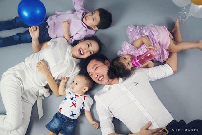 Ốc Thanh Vân rất giỏi sắp xếp thời gian để vừa hoàn thành tốt vai trò làm mẹ, vừa tham gia các hoạt động giải trí.