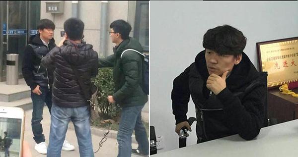 Ngày 13/12, Vương Bảo Cường có mặt tại sở cảnh sát để dùng pháp luật can thiệp những tin đồn thất thiệt trên mạng.