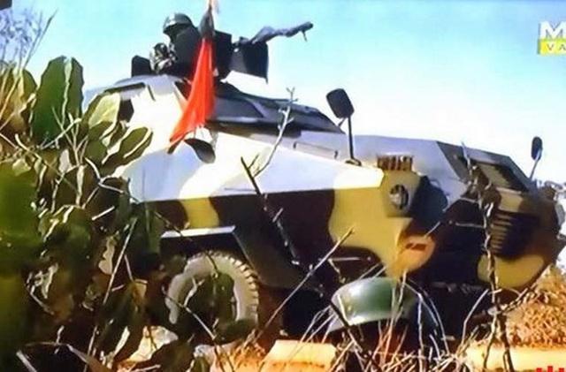 Xe bọc thép BAAC hay còn gọi là MAV-1 do Myanmar tự sản xuất trong nước trong giai đoạn 1983 - 1991 với tổng cộng 44 chiếc. Vũ khí chính của MAV-1 là súng máy hạng nặng cỡ nòng 12,7 mm.