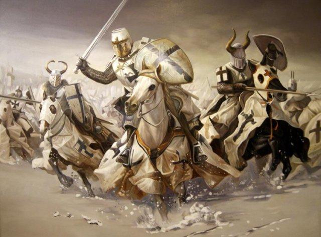 Tài quân sự đã giúp Nevsky chống lại sự thiện chiến của quân Thập tự chinh. Ảnh Internet.
