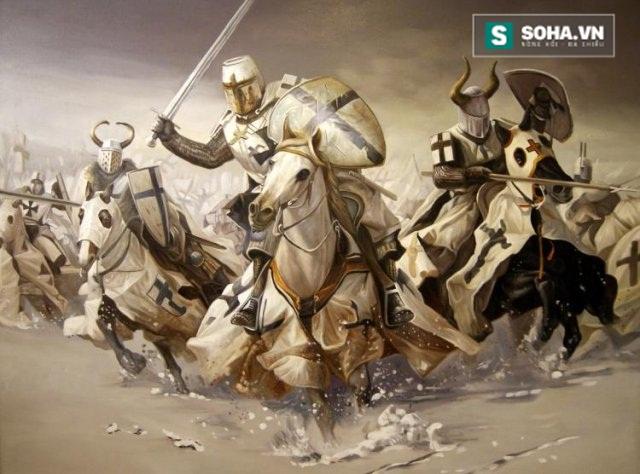 Dòng hiệp sĩ Teuton (Đức). Ảnh Internet.