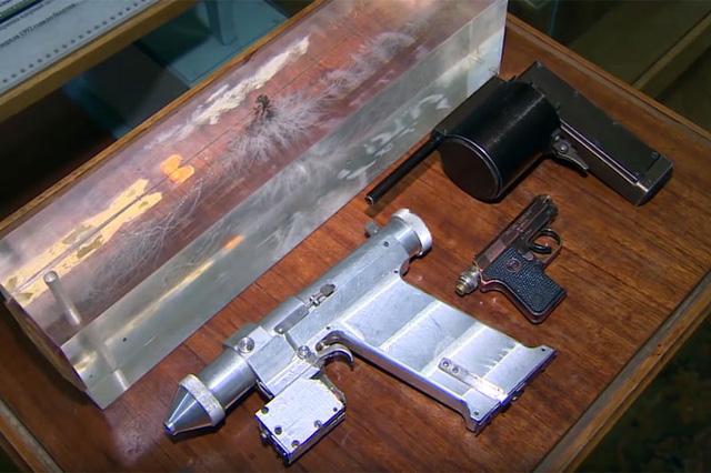 Hình ảnh về súng laser Liên Xô