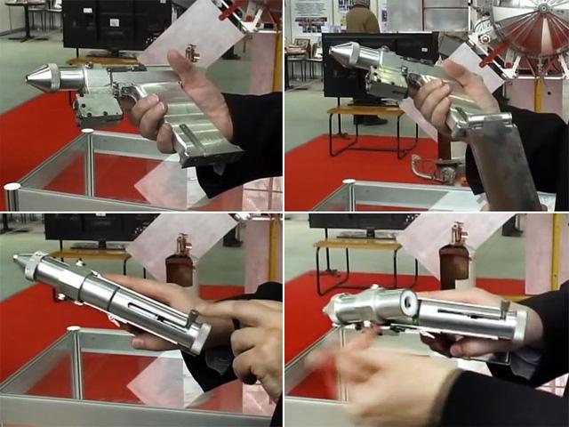 Loại súng này cũng có khả năng sát thương với vùng mắt người