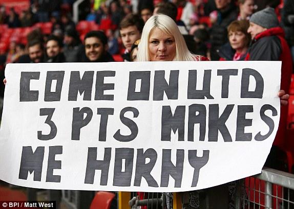 Fan Man United muốn 3 điểm và họ đã có nó một cách không thể ngọt ngào hơn!